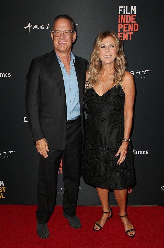 Tom Hanks a Rita Wilson - 30 let