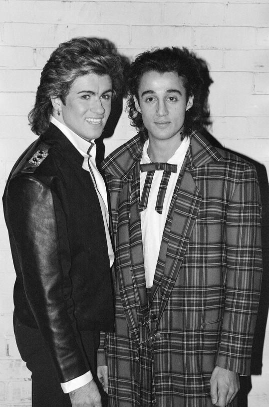 Andrew Ridgeley a George Michael (vlevo), kamarádi z dětství, kteří utvořili jedno z neúspěšnějších uskupení 80. let.