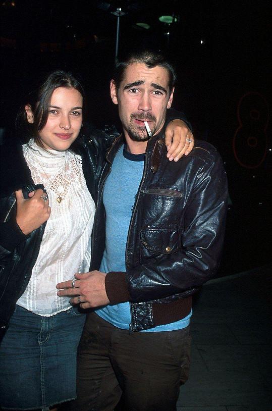 Stejnou zkušenost má Colin Farrell s Amelií Warner.