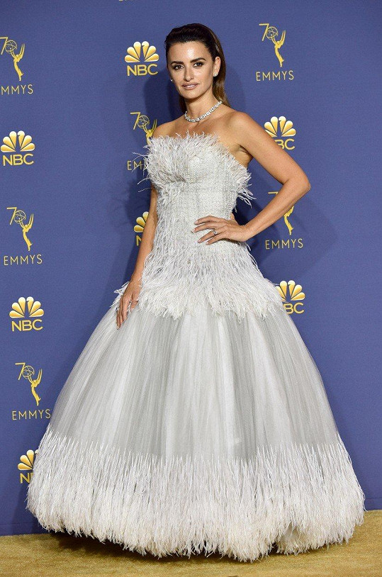 Penelope Cruz vypadala jako krásná labuť.