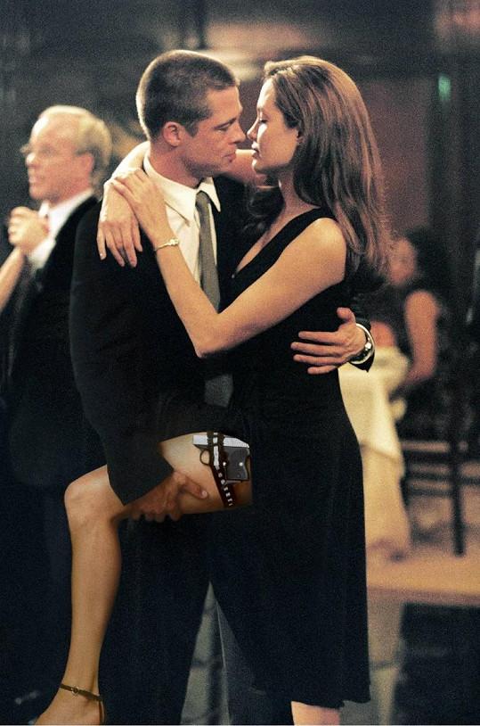 Brad a Angelina se dali dohromady při natáčení filmu Pan a paní Smithovi