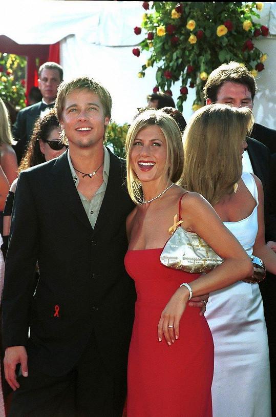 Party se zúčastnil i její exmanžel Brad Pitt (archivní foto).