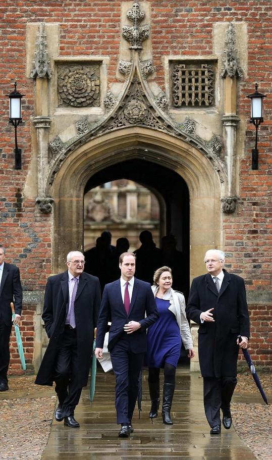 Studenti prestižního institutu si nebrali servítky. Prince Williama si mezi sebou velká část z nich nepřeje.