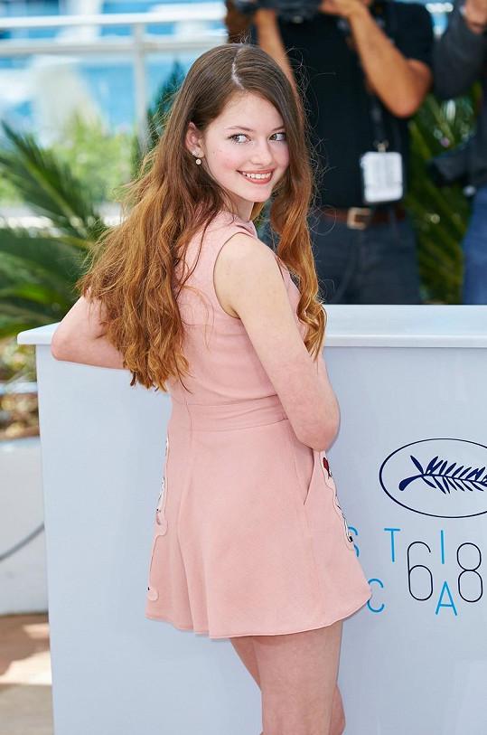 Mackenzie Foy nechyběla na letošním filmovém festivalu v Cannes.