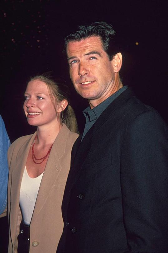 Pierce Brosnan zavzpomínal na dceru, která zemřela na rakovinu.