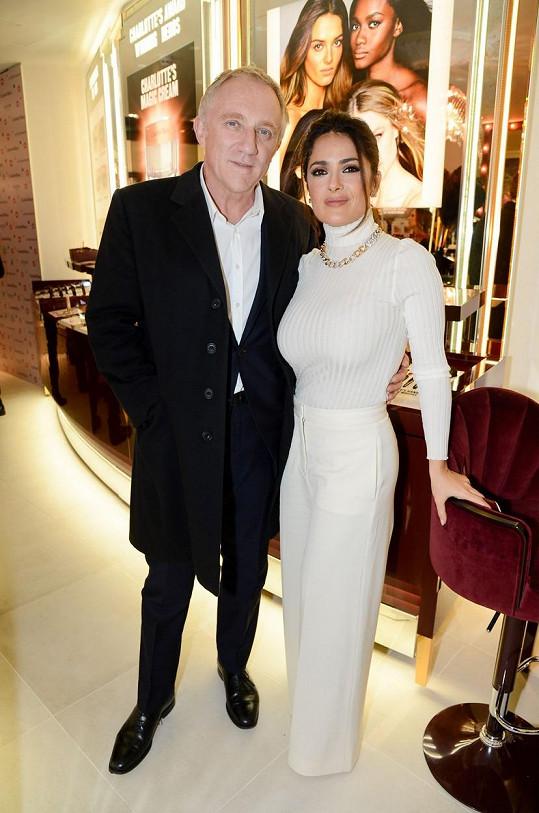 S manželem Françoisem-Henrim Pinaulem