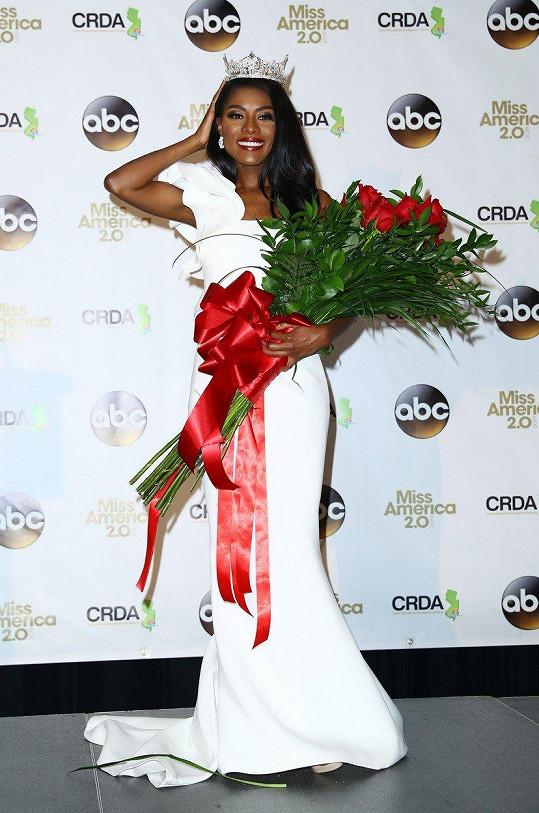 Nia Franklin je novou Miss America.