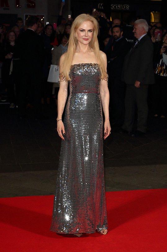 Nicole Kidman ukázala svou štíhlou postavu.