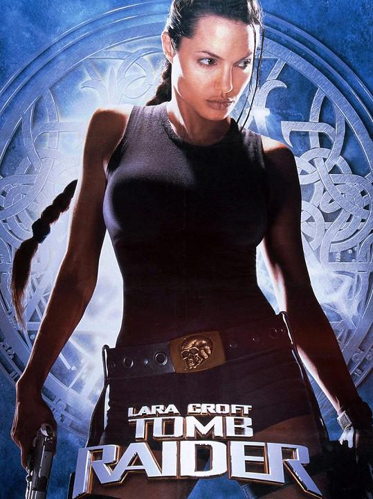 Angelina Jolie si Laru Croft zahrála v letech 2001 a 2003.