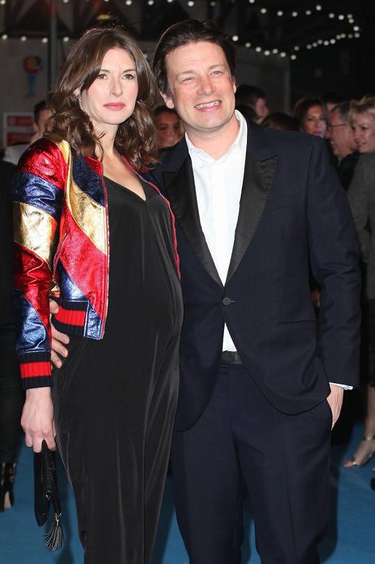 Jamie Oliver a jeho žena Jools jsou zasloužilými rodiči.
