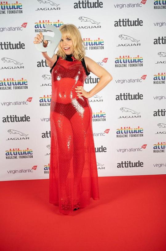 Paloma Faith na předávání cen Attitude Awards