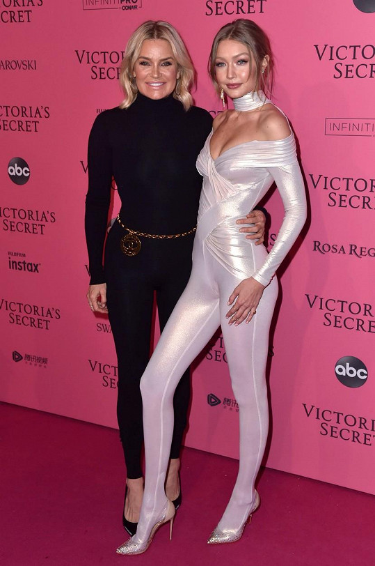 Yolanda Hadid s dcerou Gigi