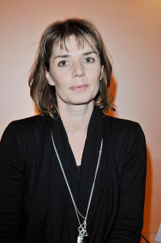 Herečka v roce 2008