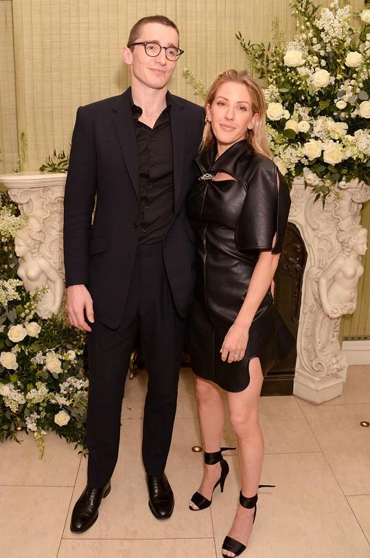 S manželem Casparem Joplingem se těší na prvního potomka.