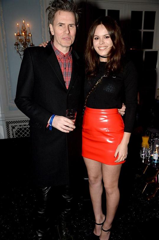 S tátou z kapely Duran Duran