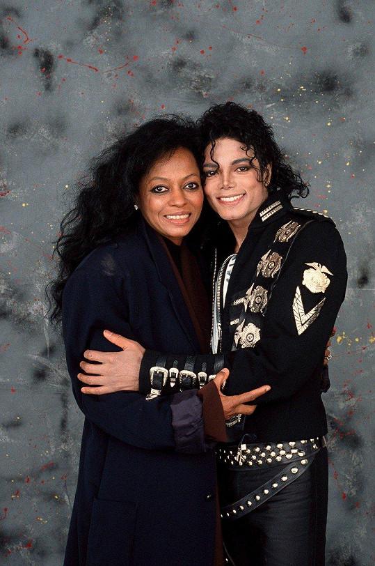 Michael Jackson byl jejím blízkým přítelem.