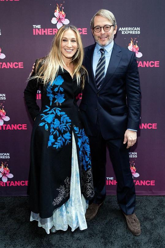 Sarah Jessica Parker s manželem Matthewem Broderickem