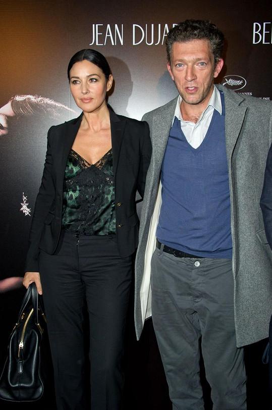 Vincent Cassel má s Monicou Bellucci dvě dcery.