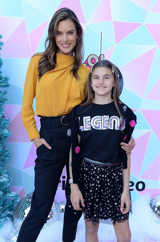 S dcerou Anjou, která nedávno oslavila 12. narozeniny.