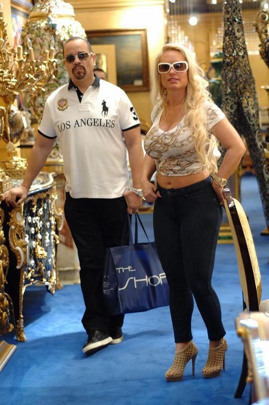 Coco s manželem Ice-T