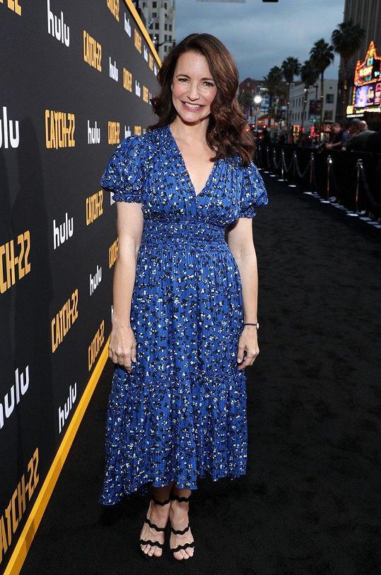 Kristin Davis se proslavila rolí Charlotte v seriálu Sex ve městě.