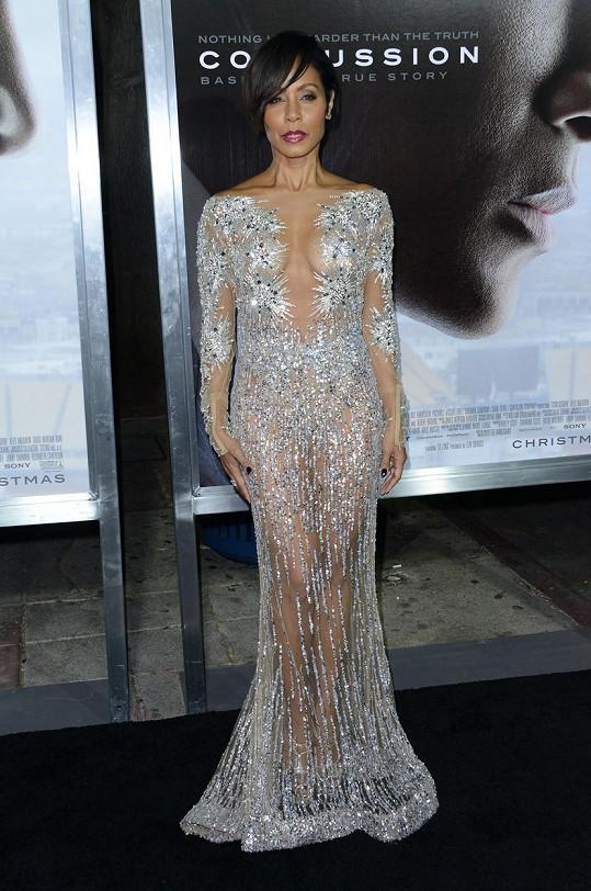 Na premiéru filmu Diagnóza: Šampión oblékla další žhavý model.