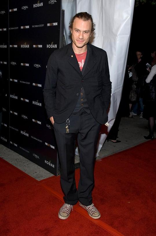 Heath Ledger v roce 2007