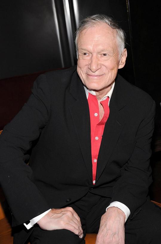 Zakladatel časopisu Playboy Hugh Hefner zemřel v roce 2017.