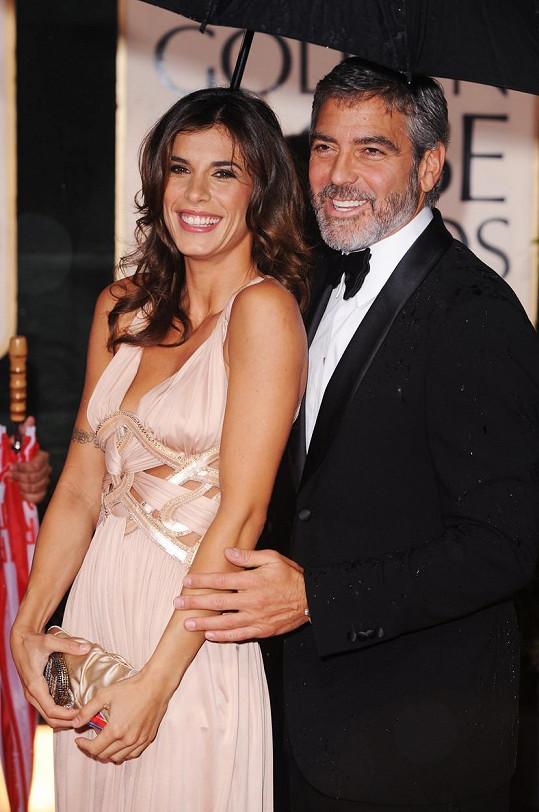 Elisabetta Canalis chodila dva roky s Georgem Clooneym