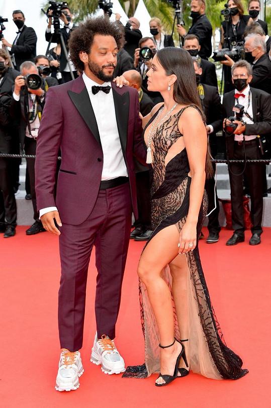 Clarisse Alves s manželem, brazilským fotbalistou Marcelem Vieirou.