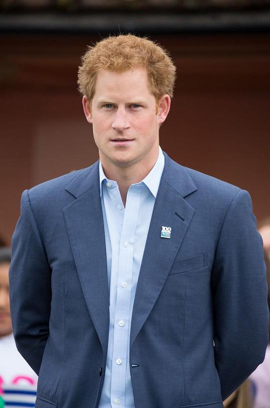 Princ Harry promluvil o svých psychických problémech.