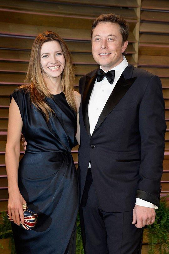 Elon Musk a Talulah Riley