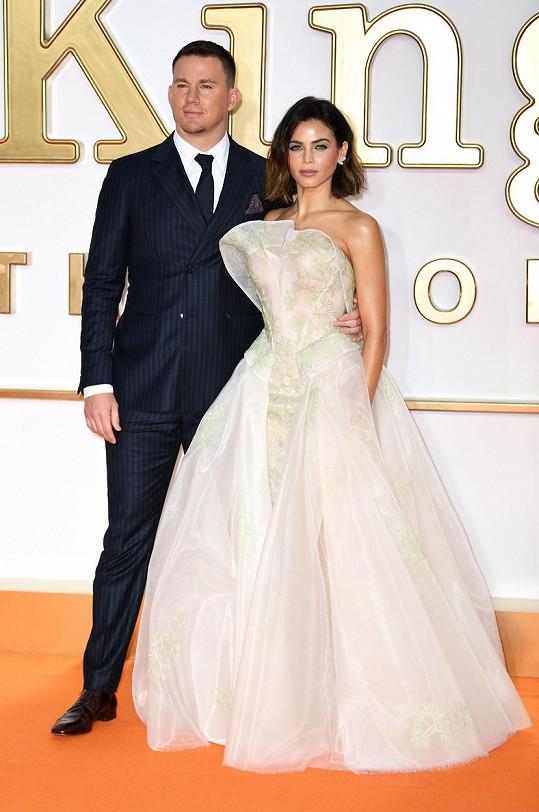 Jenna Dewan s bývalým manželem Channingem Tatumem
