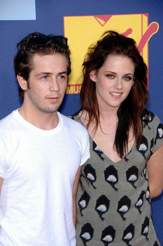 S Michaelem Angaranem měla herečka první delší vztah.