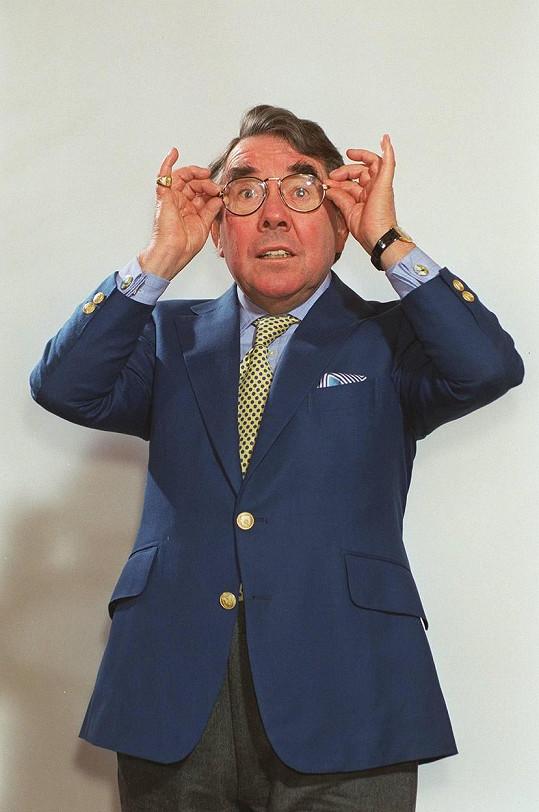Ronnie patřil ke hvězdám britské televizní obrazovky.