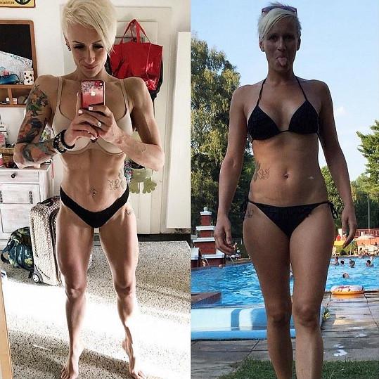 Iva Sarauerová je vyznavačkou fitness stylu. Pochlubila se proměnou.