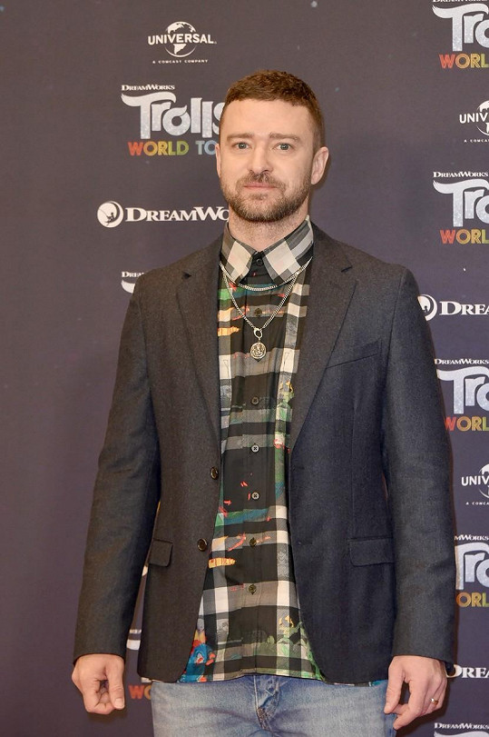 Justin Timberlake se stal obětí žertíku mladé Eve a její sestry.