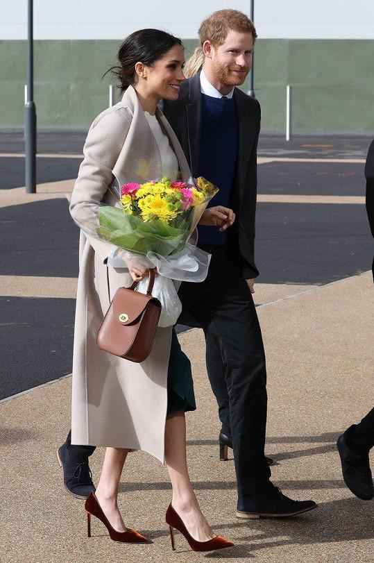 Meghan Markle a princ Harry na návštěvě Belfastu