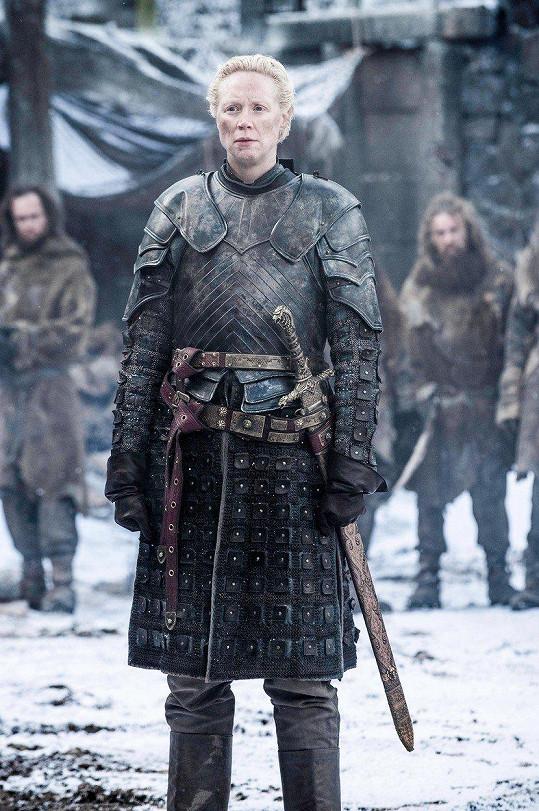 Fanoušci Christie znají jako bojovnici Brienne z Tarthu.