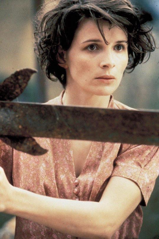 Juliette Binoche ve filmu Anglický pacient (1996)