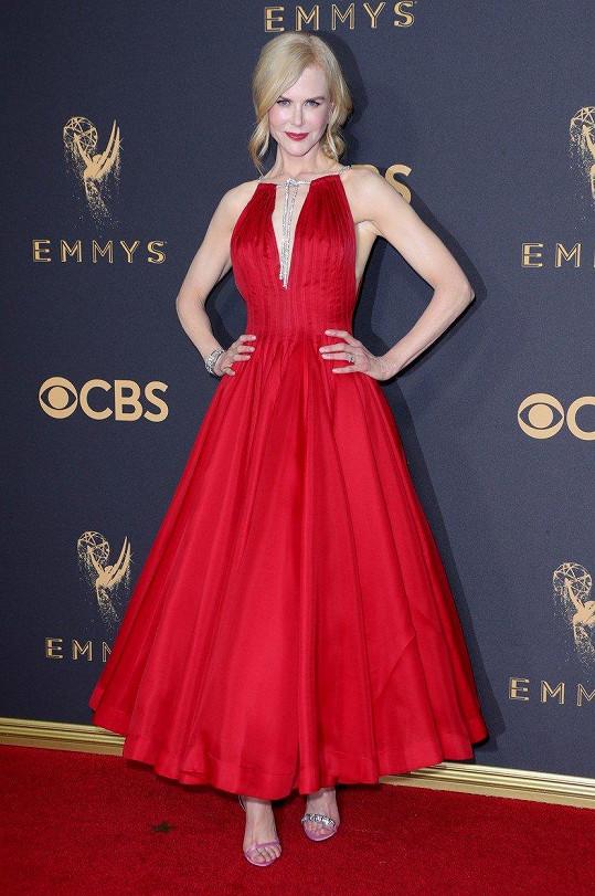 Nicole Kidman se dočkala první ceny Emmy.