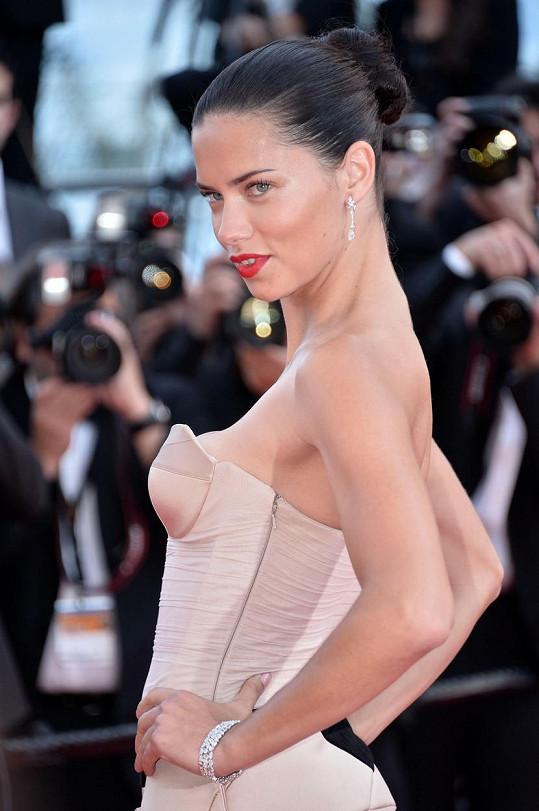 Brazilská modelka Adriana Lima (35)