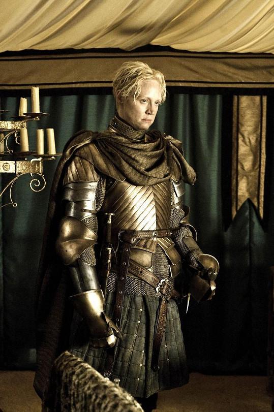 A jako bojovnice Brianne ve Hře o trůny...