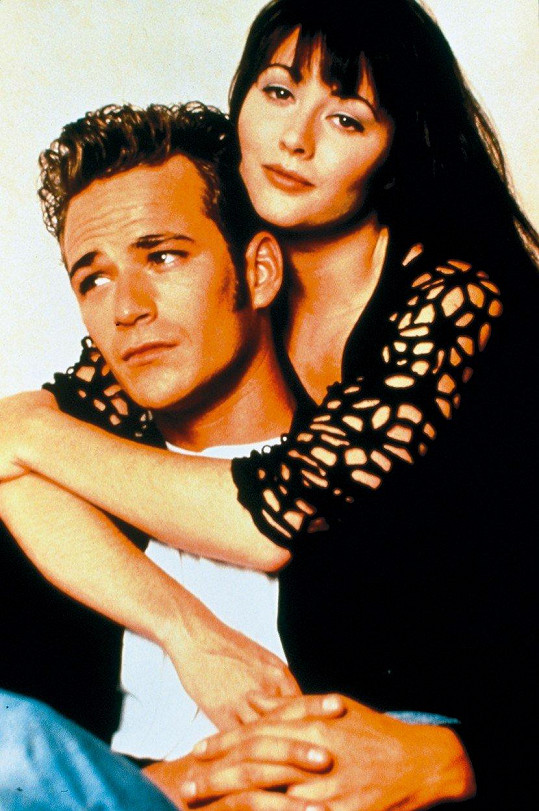 V seriálu tvořili legendární pár.