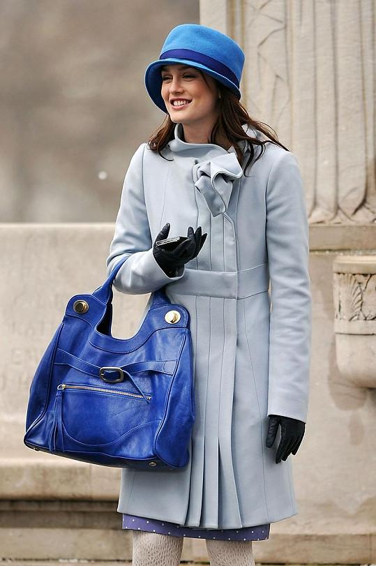 Leighton proslula jako Blair Waldorf v Super drbně.