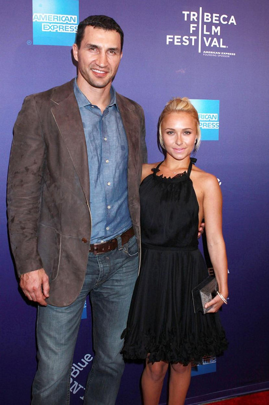 S Vladimirem Kličkem má dceru.
