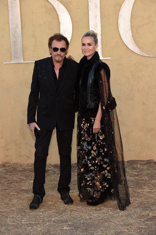 V květnu Johnny a Laeticia zavítali na módní přehlídku.