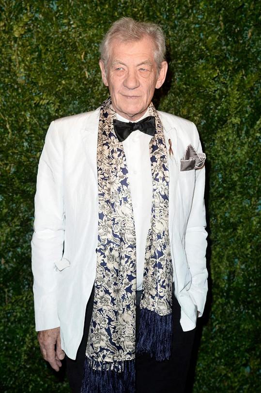 Ian McKellen má s přípravou na role stále více práce.