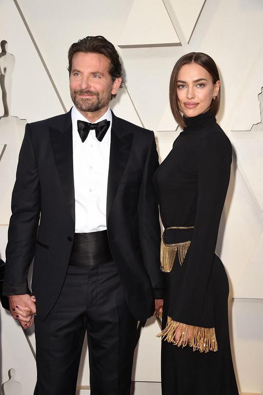 Irina Shayk a Bradley Cooper spolu i po rozchodu vycházejí dobře.