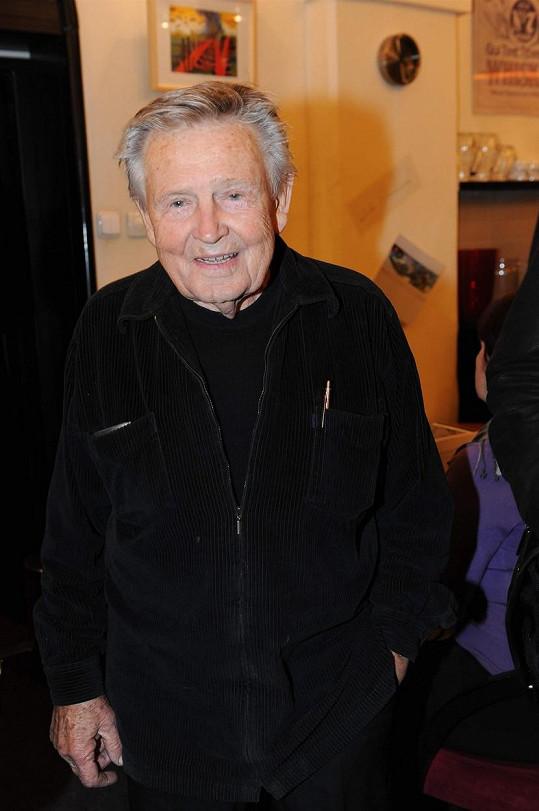 Karel Hlušička v roce 2010